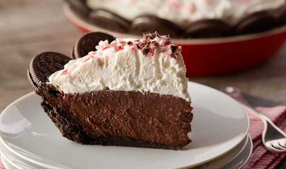 Chocolate Cream Pie with Peppermint Whipped Cream » Ohio Eggs