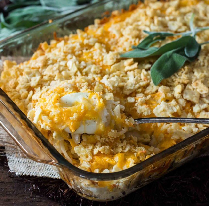 Recipes Using Eggs As Main Ingredient: Egg & Potato Casserole » Ohio Eggs