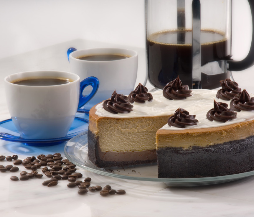 Cappuccino Fudge Cheesecake » Ohio Eggs