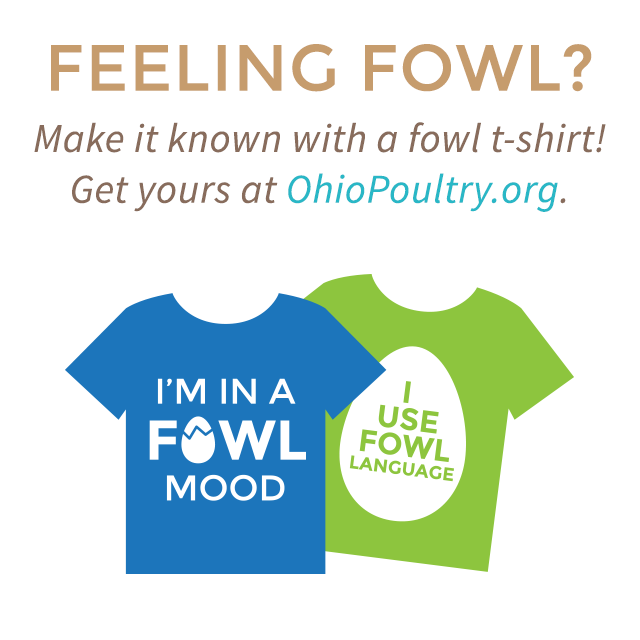 Order your Fowl t-shirts!